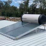 Envirosun solar hot water plonk for the Central Coast Roonsleigh builders